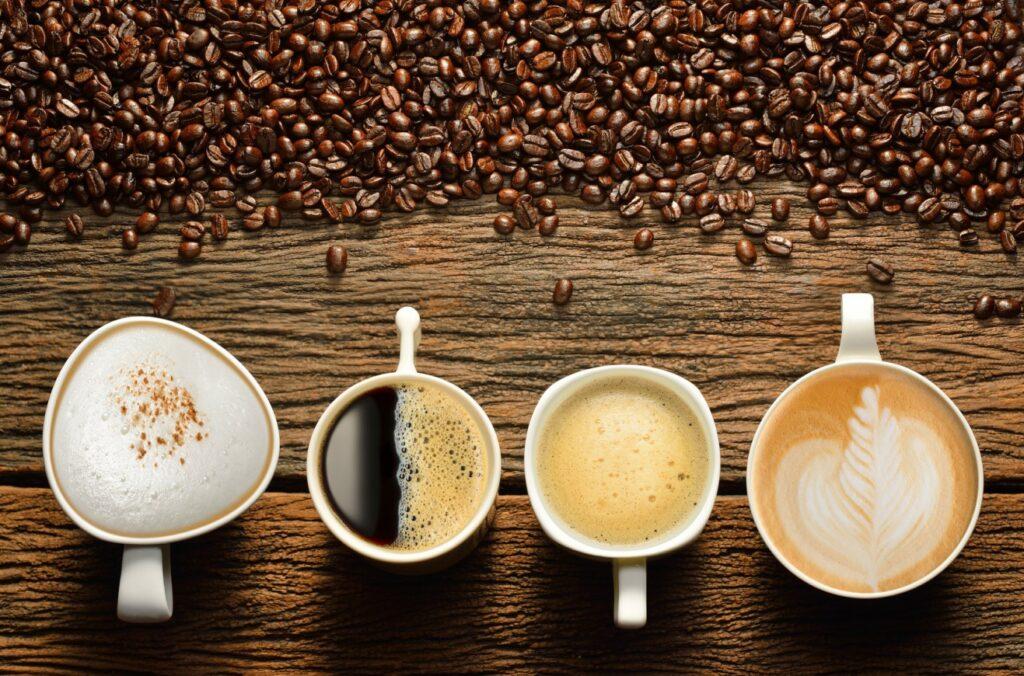 Verschiedene Kaffeesorten perfekt zubereitet (#1)
