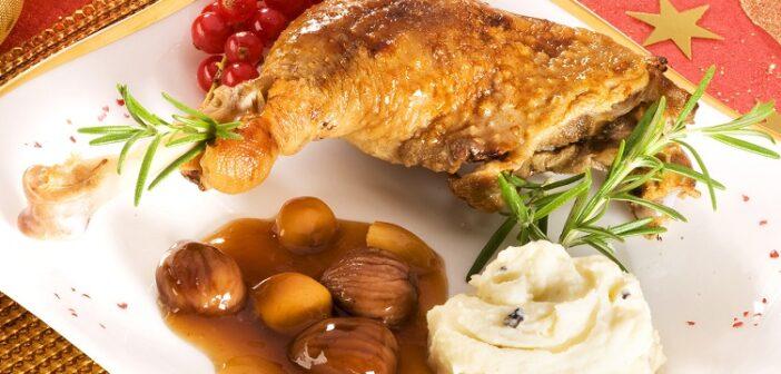 Rezept: Ente mit Maronen füllen - wenn man weiß wie, gar nicht so schwer.