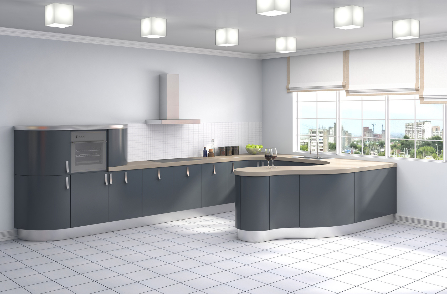 Beautiful Küche Mit Küchenblock Contemporary - Ridgewayng.com ...