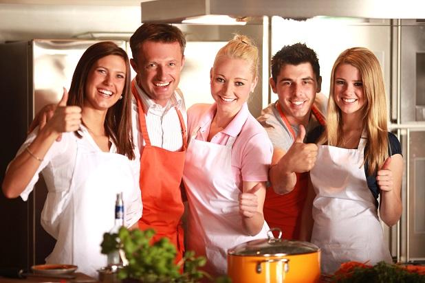 """Im Vordergrund steht hierbei neben dem Kochen aber auch der """"Support""""."""