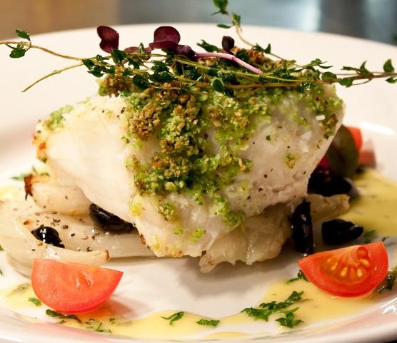 Menü mit mehreren Gängen vorab zusammenstellen oder in einem Restaurant à la carte essen.