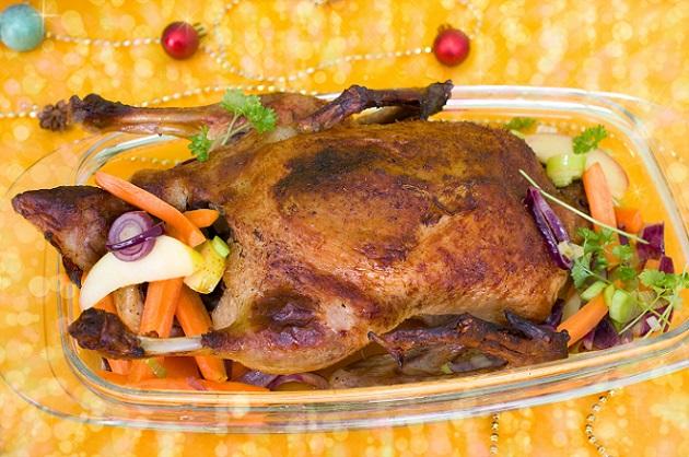Was wäre eine Ente ohne Füllung? Für eine besonders fruchtige Füllung werden folgende Zutaten benötigt. (#02)