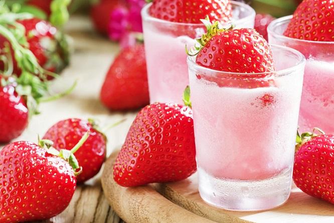 Einfacher Nachtisch Nr. 2: Erdbeercreme. (#01)