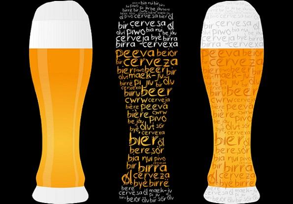 In der Gastronomie sind zahlreiche Varianten der Weißbiergläser vertreten. Neben den klassischen schriftlosen hohen Gläsern, die nach oben hin weiter geformt sind, finden sich auch lustige Designs mit verschiedenen Themen, beispielsweise passend zum Oktoberfest. (#01)