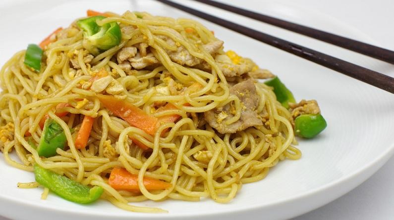 Schnelle Gerichte: Lecker chinesche Nudeln (#01)
