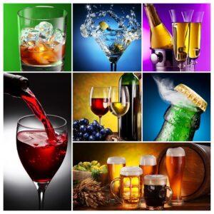 Glaeser Gastro Gewerbe: Es werden zahlreiche verschiedene Glasformen benötigt. (#02)