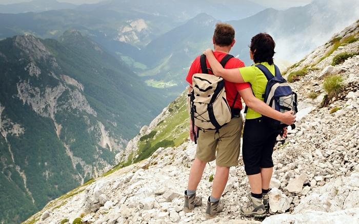 In den Bergen Österreichs fühlen sich Hochzeitspaare und andere romantisch veranlagte Gäste wohl. (#03)