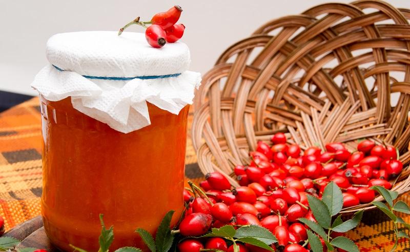 Klassisches Rezepte für Hagebutten: Hagebuttenmarmelade verfeinert (#02)