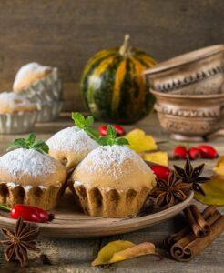 Rezepte für Hagebutten: leckere Hagebutten-Muffins backen (#04)