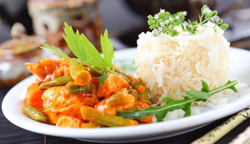 Was koche ich heute? Wie wäre es mciht leckerem Hähnchencurry und Reis? (#02)