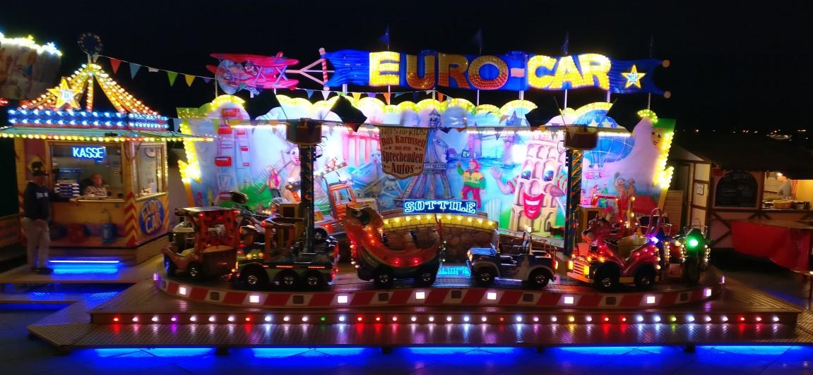 """""""Euro-Car"""" für die kleinen Gäste."""