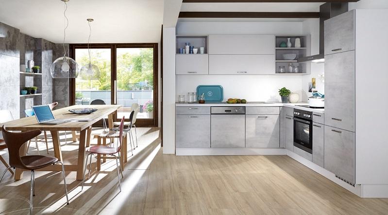 Das Umweltbewusstsein setzt sich auch in der Küche immer mehr durch. Viele Hersteller bieten Produkte aus recycelten oder aus recycelbaren Materialien an. (#01)