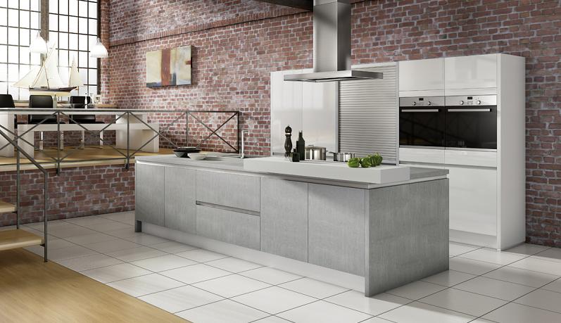 Die Küche ist ein Raum, der in erster Linie funktional sein sollte, um die Speisen einfach und bequem zuzubereiten. Doch spielt auch hierbei das Design eine immer wichtigere Rolle. (#02)