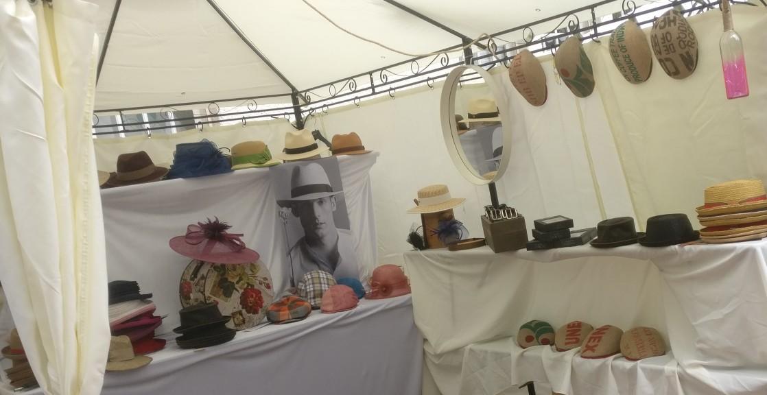 """Coole Caps von Hut-Vetter aus Bad Kreuznach auf dem """"Lebenslust"""" Gourmet- und Kunstfestival im Kurpark in Bad Münster am Stein"""