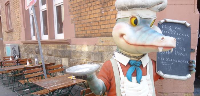 Krokodil Mainz: Von früh bis spät lecker essen