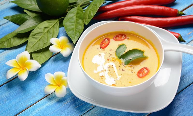 Auch Veganer können in den Genuss einer leckeren Kürbissuppe kommen.