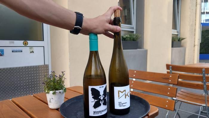 Naturwein - eine Spezialität des Hauses bei Dagobert (Foto: Tiffany Bals)